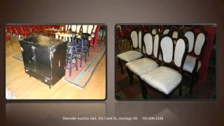 Riverside Auction Hall Antique and Consignment Sale July 7th