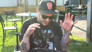 Interview with  Frankie Palmeri lead singer of Emmure