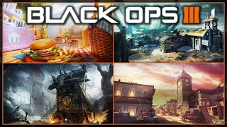 NEW BO3 DLC Salvation Maps - Standoff and Outskirts Return ( Bo3 Dlc 4 map pack Info )