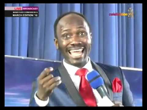 Apostle Suleman Has Cursed The Governor Of Kaduna State
