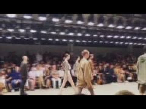 Kanye West shows Yeezy fashion show in New York