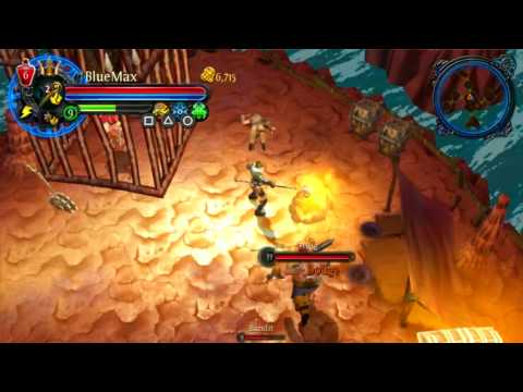 Better Late Than Never: Dungeon Hunter: Alliance Vita Gameplay