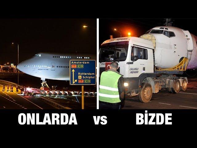 OTOYOLDAN GEÇEN BOEING 747 AVRUPA'DA GÜNDEM OLDU!