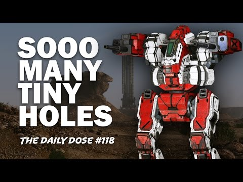AC2 Fire Support Blackjack BJ-1 -  Mechwarrior Online - The Daily Dose #118