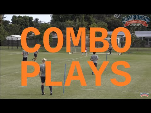 Combination Play And Finishing Exercises On Goal