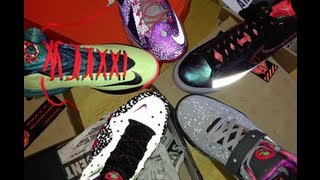 Skee Locker: Nike Area 72 All Star Unboxing Lebron X, KD V, Barkley Posite & More