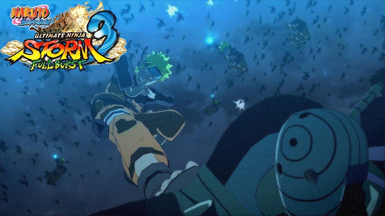 Naruto Shippuden Storm 3 Full Burst: #10: Naruto vs Tobi