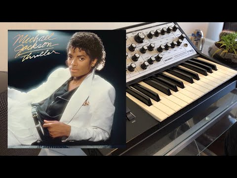 "Michael Jackson - ""Baby Be Mine"" Synth Bass Cover (Moog Sub Phatty)"