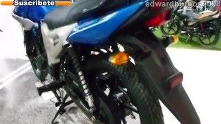 Yamaha sz r azul 2013 colombia video auto show medellin 2012 FULL HD