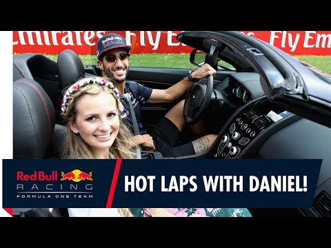 Red Bull Ring Laps going like they're hot with Daniel Ricciardo!