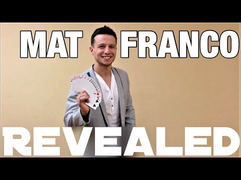 The Never Before Seen Mat Franco Card Trick REVEALED!