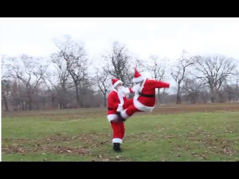 Santa Clause Fighting
