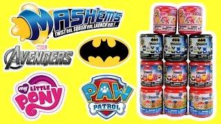 Mashems Batman, Paw Patrol, Avengers, My Little Pony