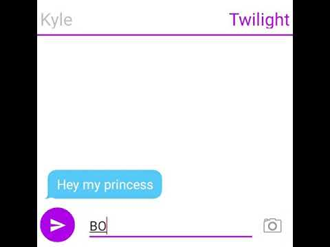 Kyle X Twilight (Rp Text Story) -Part 1-