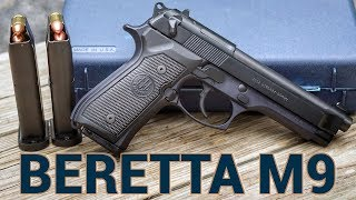 The Beretta M9 is Strong Even in Retirement
