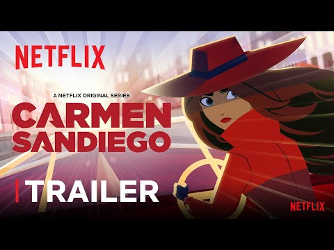 Carmen Sandiego Season 3 Trailer   Netflix Futures