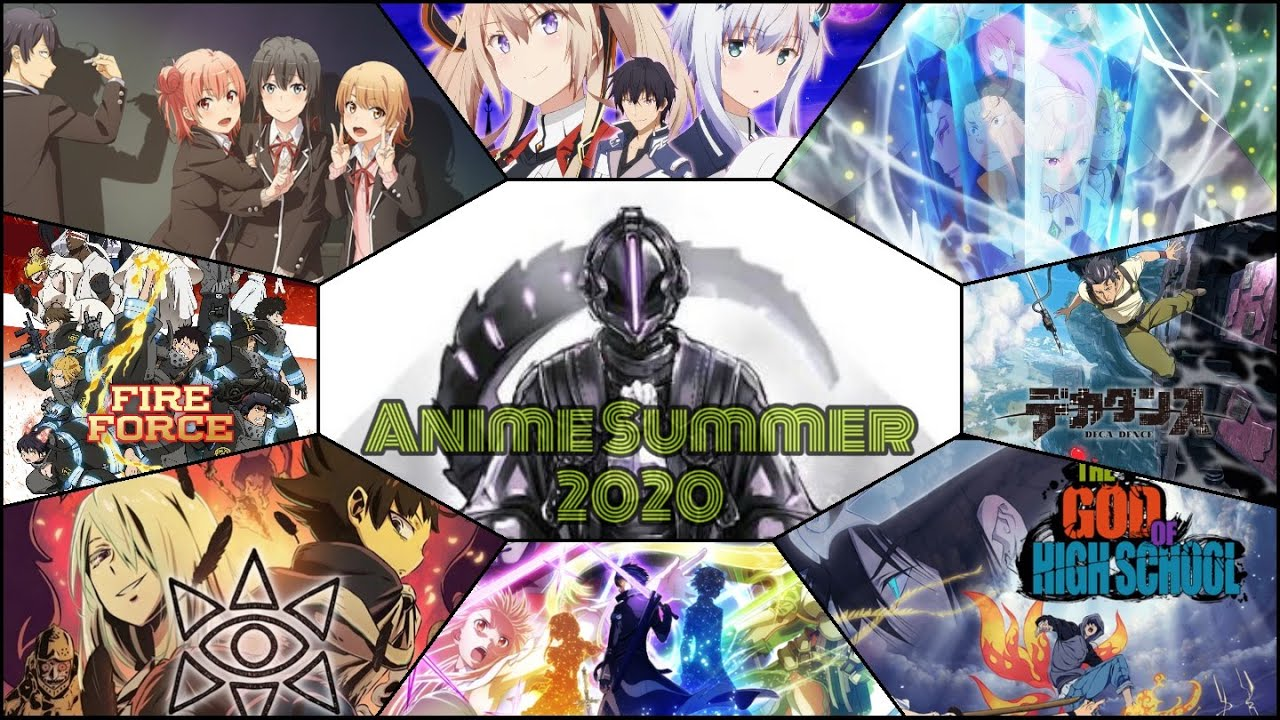 The Animetion's Pick - Top 10 Returning and Brand-New Anime of Summer 2020