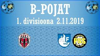 AC Haki - ÅIF/PSS (B-pojat 1.Divisioona 2.11.2019)
