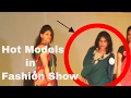 good looking models in fashion show