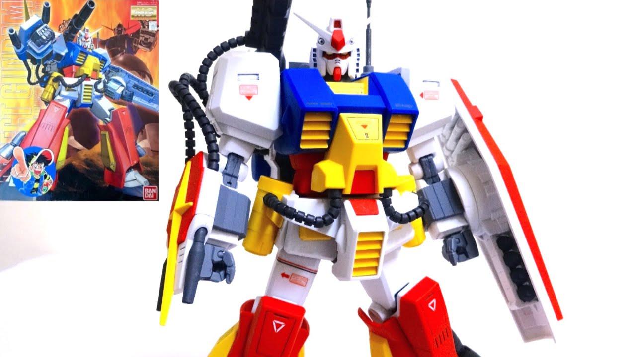 【プラモ狂四郎】MG 1/100 パーフェクトガンダム アーマーを装着だ! ヲタファのガンプラレビュー MG Perfect gundam  review , YouTube