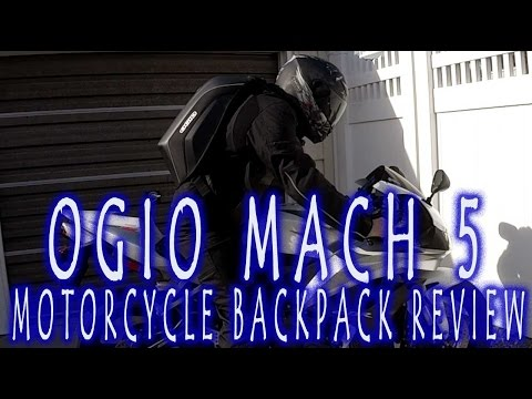 Gear Review | Ogio Mach 5 Motorcycle Backpack