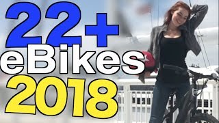 22+ NEW - USA eBikes you can actually get in 2018!