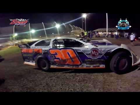 #30 Brent Clark - Sportsman - 4-15-17 Boyd's Speedway - In-Car Camera