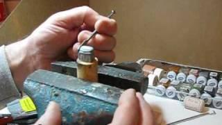 How to sculpt a miniature treasure chest