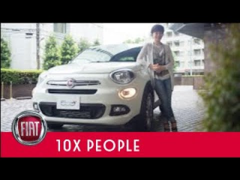 FIAT 500X : 10X PEOPLE - ヤマザキマリ -