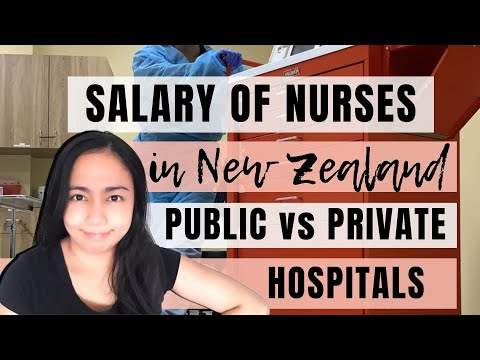 💲 How Much Do Nurses Earn In New Zealand? | Public Vs Private Hospital 💲