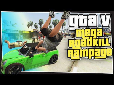 GTA 5 Online - Mega Roadkill Rampage  (GTA Custom Games)