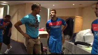 Cristiano Ronaldo with Portugal @ HOTEL [HD] part 1/2
