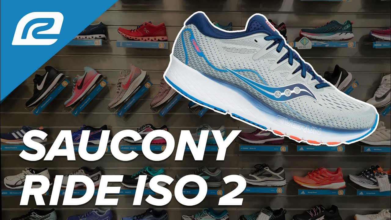 a0c2f658edfbb Saucony Ride ISO 2 - First Look with RRS Fit Expert!