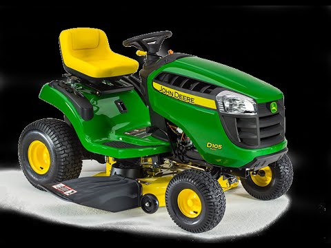 john deere d105 auto lawn tractor review youtube. Black Bedroom Furniture Sets. Home Design Ideas