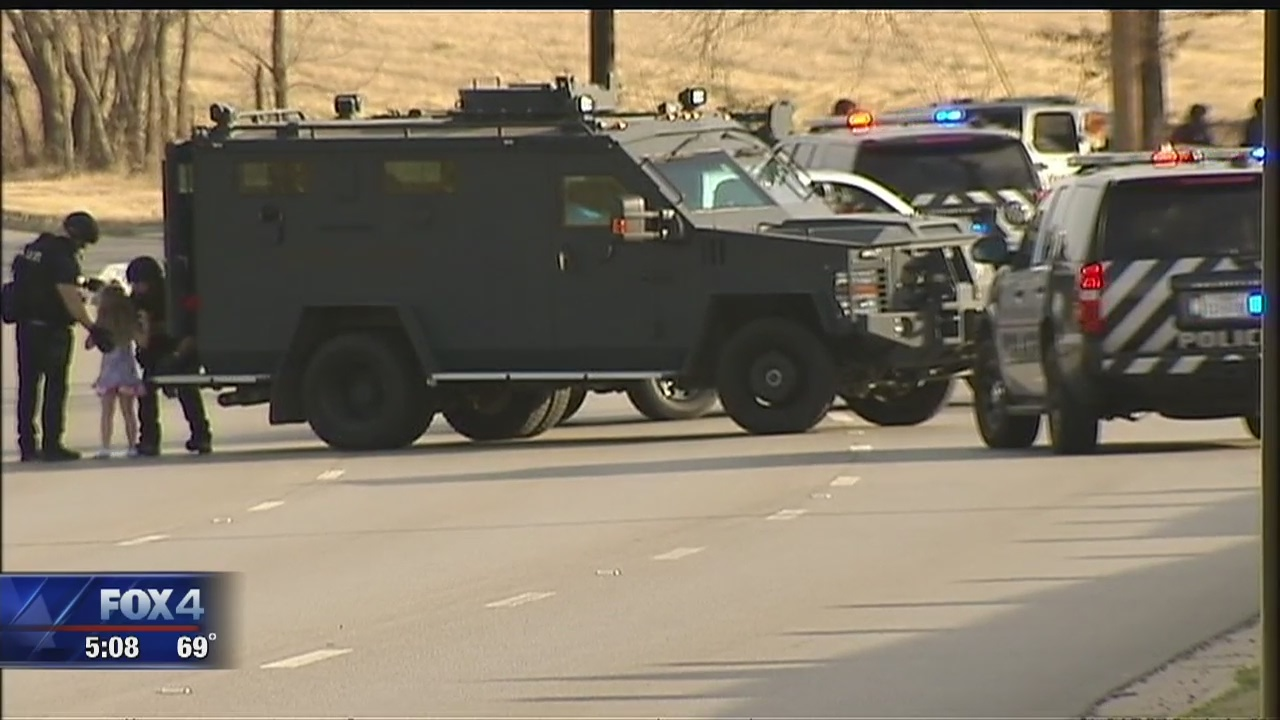 North Richland Hills SWAT standoff ends peacefully