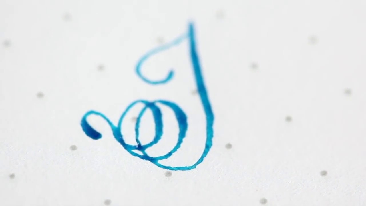 K Modern Calligraphy Letters H I J And K With Pointed Pen Modern Calligraphy The Aloha Studios