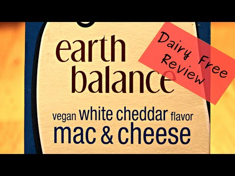 Dairy Free Review: Earth Balance Mac & Cheese