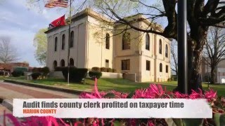 Marion County TN clerk took in $36,000 on taxpayer time