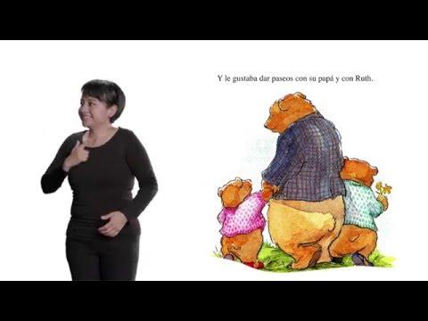 Cuento en Lengua de Señas Mexicana -  El divorcio de papá y mamá oso