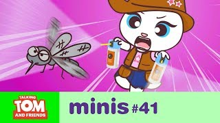 vuclip Talking Tom and Friends Minis - Bzzz! Annoying Mosquito (Episode 41)