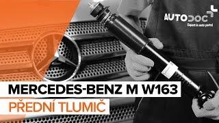 Výměna Brzdové Destičky MERCEDES-BENZ M-CLASS: dílenská příručka