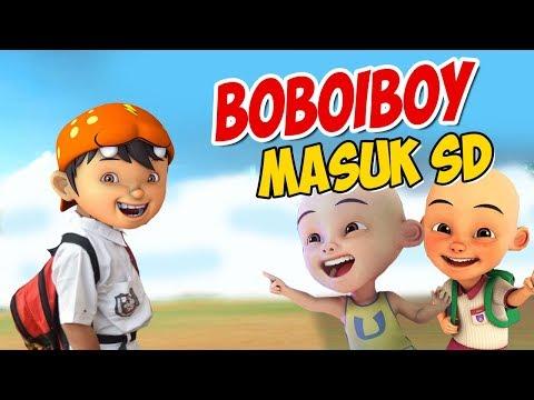 Boboiboy Masuk SD , Upin Ipin Senang ! GTA Lucu