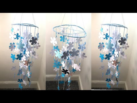Amazing !!! DIY Paper Wall Hanging | Handmade Paper Craft Things | Wind Chime I Best Out Of Waste
