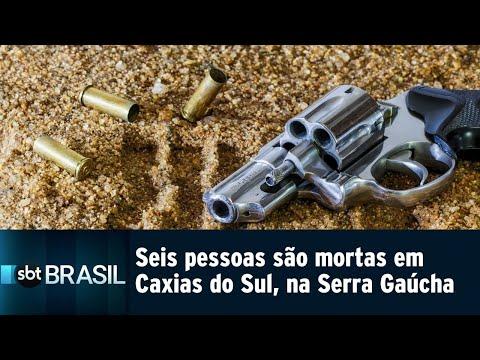 Seis pessoas são assassinadas em Caxias do Sul, na Serra Gaúcha | SBT Brasil (03/08/18)