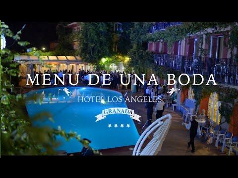 Menú De Una Boda  -  Hotel Los Angeles