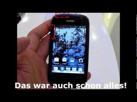 Huawei Ascend Y201 Pro - Screenshots machen: So gehts!