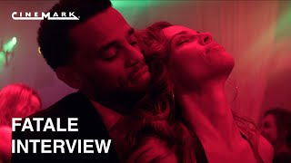 Fatale | interview with hilary swank, michael ealy, mike colter, & deon taylor cinemark theatres