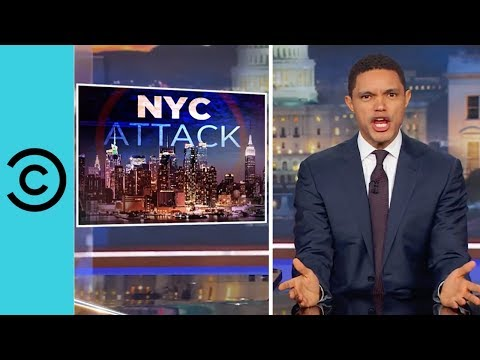 Trump Politicises The New York Attacks | The Daily Show