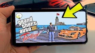 GTA 3'Ü TELEFON DA TÜRKİYE MODU İLE OYNAMAK!