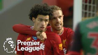 Curtis Jones' first Liverpool goal seals the win against Aston Villa   Premier League   NBC Sports